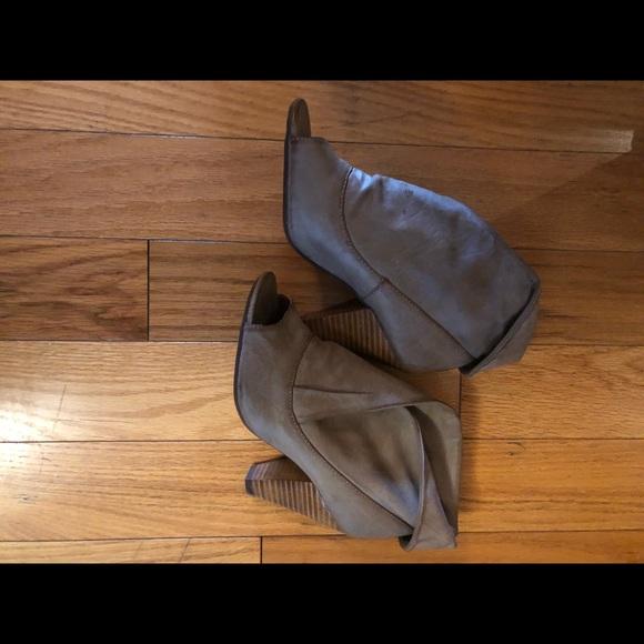 Very Volatile Leather Booties